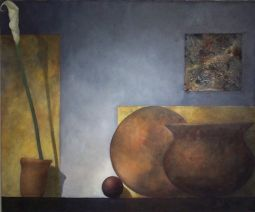 "s28,  oil on linen, 30"" x 35"" (75 x 90 cm), 2002"
