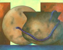 "s35, oil on canvas board,  9"" x 12"" (24 x 30 cm), 2002"