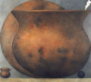 "s54, oil on linen, 40"" x 44"" (102 x 112 cm), 2004"