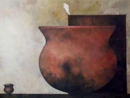 "s56, oil on canvas, 50"" x 66"" (152 x 168 cm), 2003"